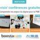 AISG actu - Web-conférences sur le digital avec Boostacom